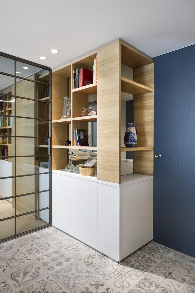 Diseño reforma piso esparza arquitectura