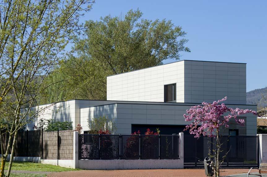Passivhaus en Lasarte. Esparza arquitectura.