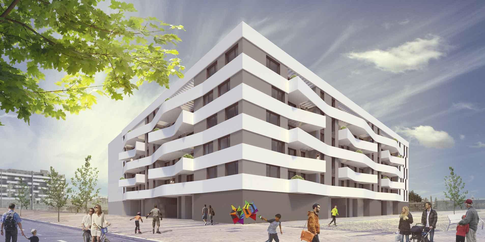 Proyecto de viviendas Esparza arquitectura